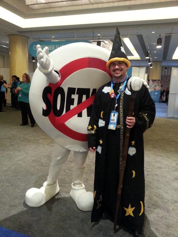 Salesforce Wizard Dreamforce 2013