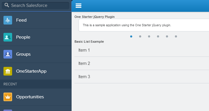 Salesforce1: Getting Started with OneStarter - The Wizard News