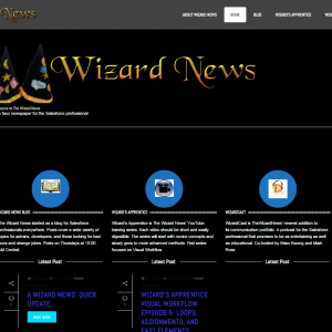 Wizard News Home Page