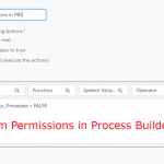 Custom Permissions in Process Builder