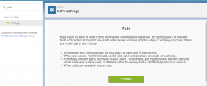 Enable Salesforce Lightning Path