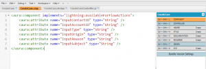 Lightning Component in Developer Console