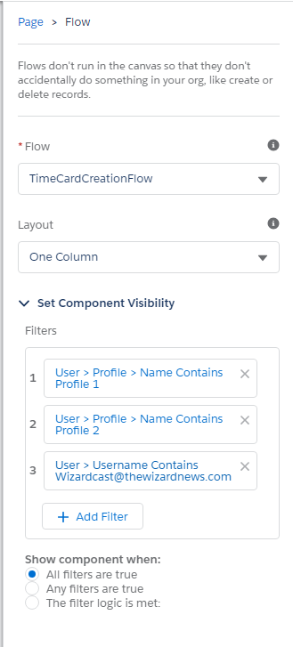 Lightning Component Visibility by Profile