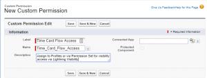 Creating a custom permission