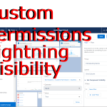Custom Permissions Lightning Visibility