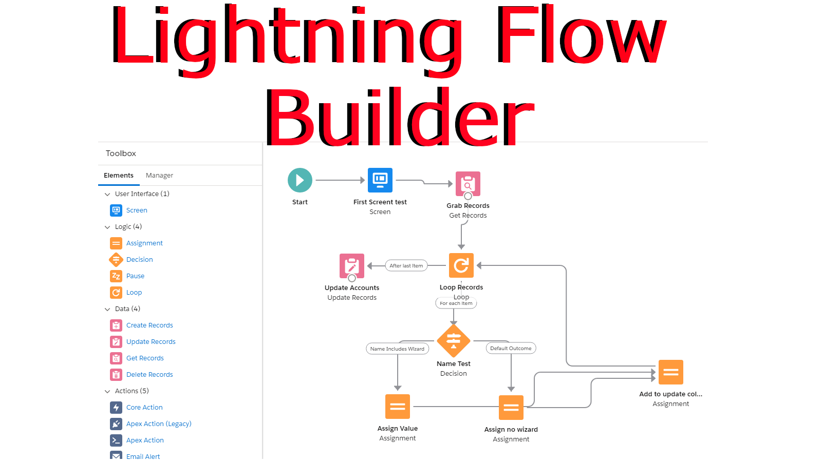 Hands-On The New Lightning Flow Builder Spring 19 Pre