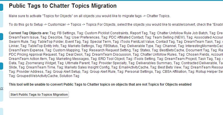 Tagmigration page