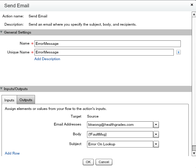 Send Email Element
